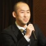 基調講演の講師を務めた 個別指導Q・笠木誠代表
