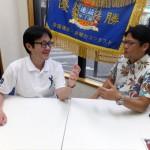 セレブレム・新山広明 代表(右)とSRJ・堀川直人 社長