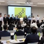 セミナーの途中で、東京芸術大学ほか、プロで活躍中のフラッシュモブのサプライズ演奏が披露された