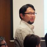 特別審査員の山田和宏氏(NTTドコモイノベーション統括部 企業連携担当部長)