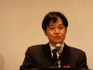 経済産業省 商務情報政策局商務・サービス グループサービス政策課長の守山宏道 氏