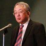 総評を述べる愛知県私塾協同組合の山田真司 理事長