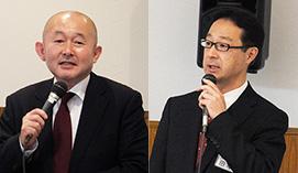 左:ウイングネット・荻原俊平 社長 右:ウイングネット統括本部・田中聖 氏