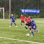 第25 回 原FC少年サッカー大会。山梨県鳴沢村で行われた