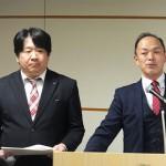 ウィザス・経営統括室の佐藤仁一 氏(右)と ICT教育推進本部の平野秀和 氏(左)