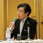 パネルディスカッションの司会も務めた桃井隆良 理事長