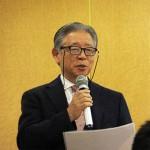 開会の挨拶を述べた荒井裕司 副理事長