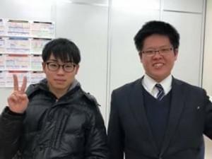 高松校舎長と生徒さん