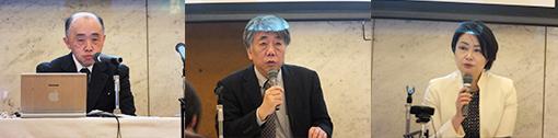 [左から]小泉壮一郎 氏、千葉義夫 氏、高橋真実 氏