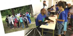 市進教育グループで行った英語キャンプ