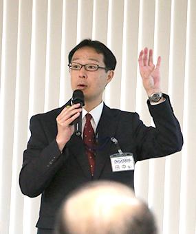 ビジネスサポート本部 本部長の田中聖 氏