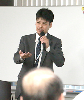 ビジネスソリューション事業 本部・本部長の中野憲二 氏