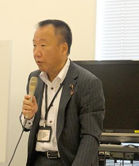 事務局長の大島九州男 参議院議員(国民民主)