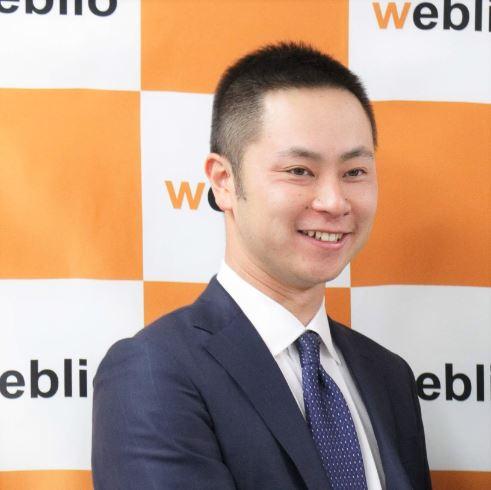 辻󠄀村直也 代表理事(ウェブリオ代表)