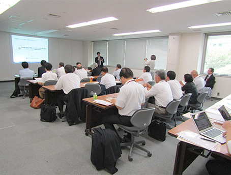 9月10日に開催されたIT導入補助金活用セミナーの様子