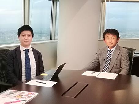 創英コーポレーションの豊川忠紀 代表(右)とユナイトプロジェクトの古岡秀士 代表▶