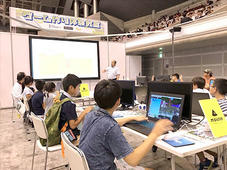 9月に行われた東京ゲームショウに「プロスタキッズ」を出展