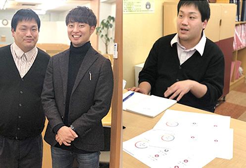 [左]Lacicu・服部 悠太 代表(右) [右]有限会社 ECプログラム 橋本 悟 教室長