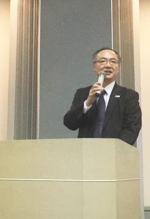 TGG代表取締役社長・織田信雄氏