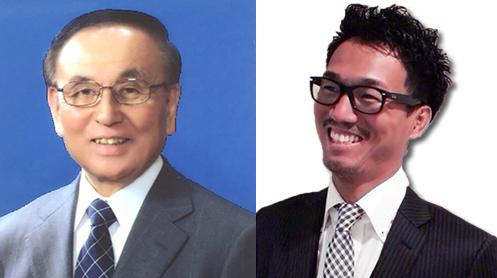 [左] 村山愨 氏 [右] 大森修 氏