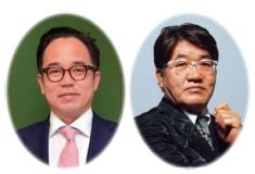 [左] 花まる学習会・高濱正伸代表 [右] 成基・佐々木喜一 代表