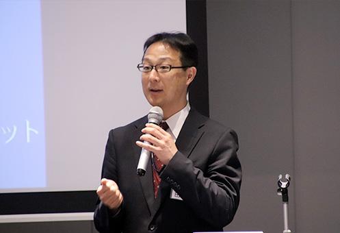 ウイングネット・執行役員の田中聖 氏