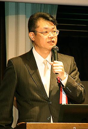ケイシングループ代表 明友社代表の原田真一 氏