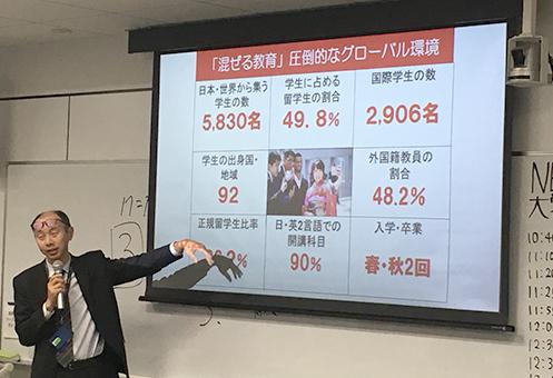 立命館アジア太平洋大学(APU)伊藤健志 氏