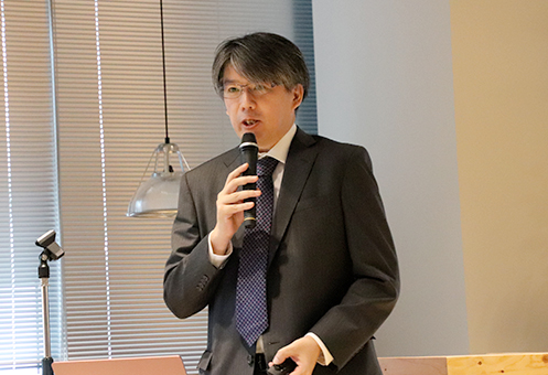 LINE みらい財団・江口清貴 専務理事