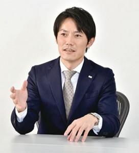 経営戦略室代表の肥川英司 氏