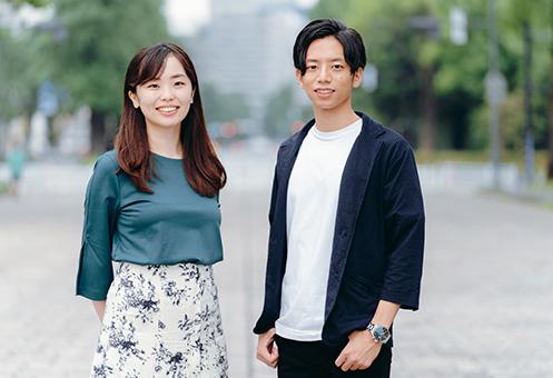 アスデッサン・金子麻里奈 共同代表理事(左)