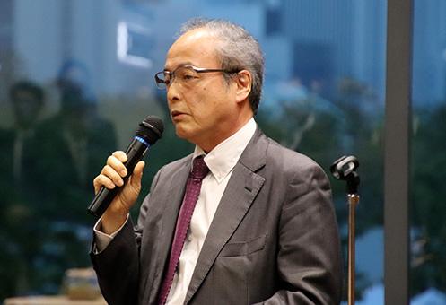 市進・小笠原宏司 代表取締役会長