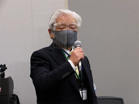実行委員長の全国学習塾協同組合・森貞孝理事長
