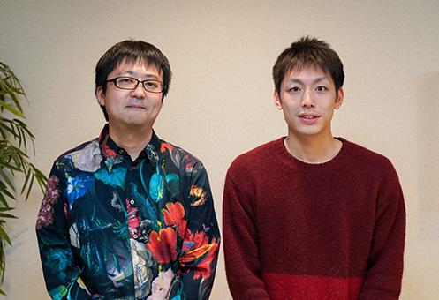 代表取締役 湯浅浩章氏(左)と最高執行責任者 天野玄樹氏