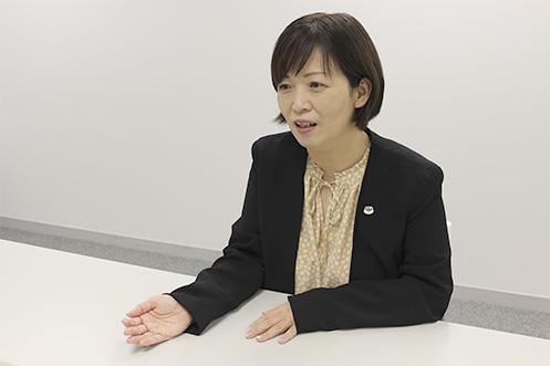 英語みらい準備室  執行役員 谷川恵美子 氏