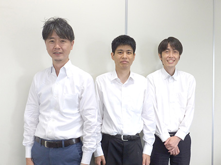 [左から] 筒井 康隆 氏、鈴木 有理 氏、川口 宏 氏